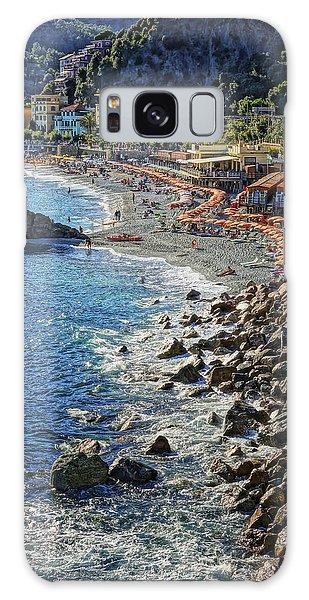 Beach Monterosso Italy Dsc02467 Galaxy Case