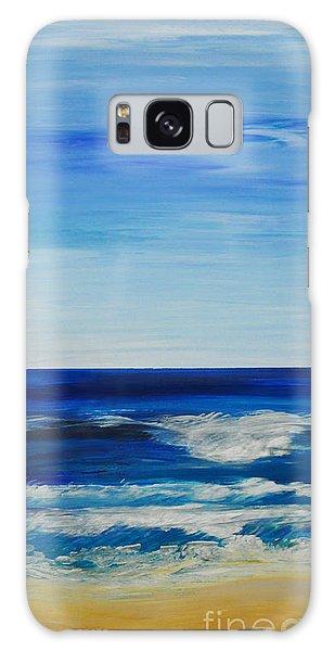 Beach Ocean Sky Galaxy Case