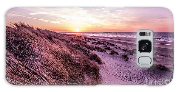 Beach Of Renesse Galaxy Case by Daniel Heine