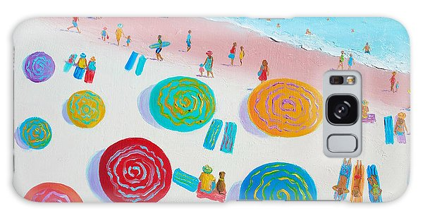 Beach Painting - A Walk In The Sun Galaxy Case
