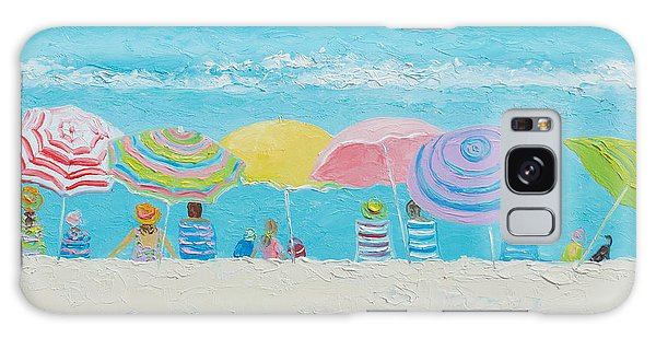 Beach Painting - Color Of Summer Galaxy Case