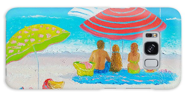 Beach Painting - Endless Summer Days Galaxy Case