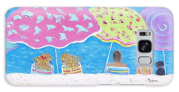 Beach Painting - Lazy Summer Days Galaxy Case