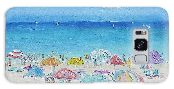 Bradenton Galaxy Case - Beach Painting - Summer Paradise by Jan Matson
