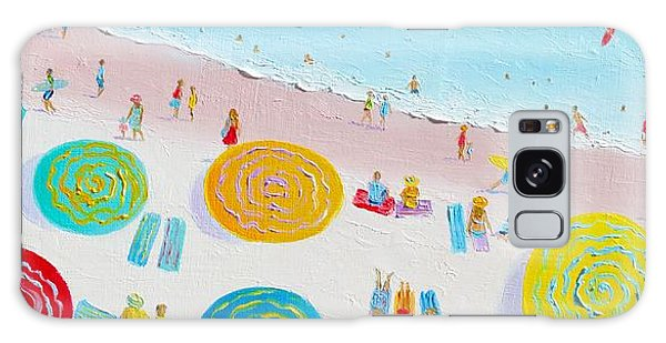 Beach Painting - The Simple Life Galaxy Case