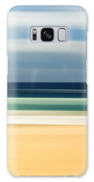 Beach Galaxy S8 Case - Beach Pastels by Az Jackson