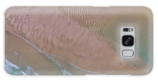 Beach Patterns At North Point On Moreton Island Galaxy Case