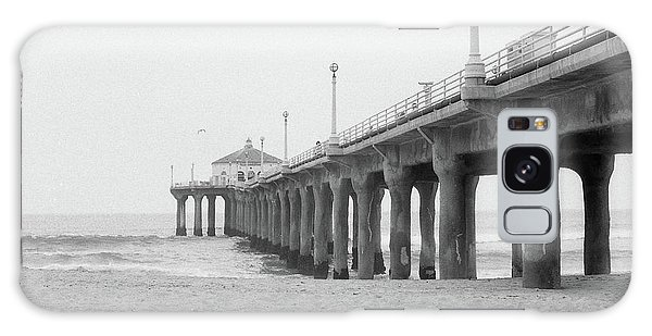 Beach Pier Film Frame Galaxy Case