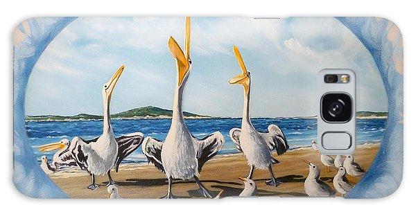Beach Platoon Galaxy Case by Sigrid Tune
