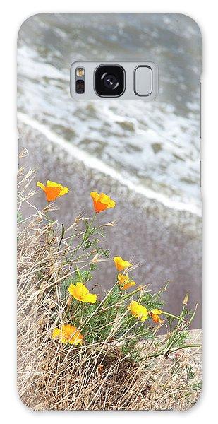 Beach Poppies Galaxy Case
