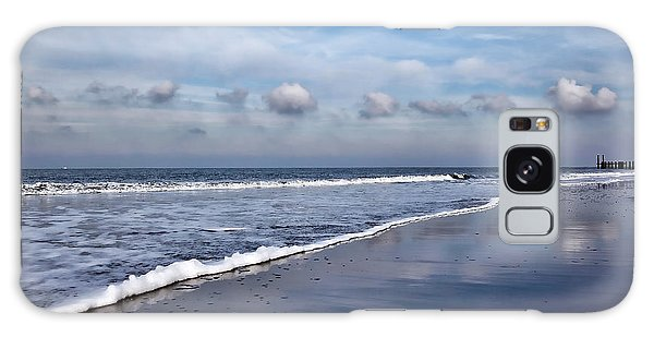 Beach Reflections Galaxy Case