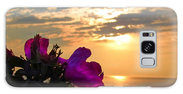 Beach Roses Galaxy Case