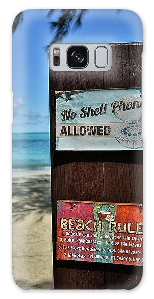 Beach Rules Galaxy Case