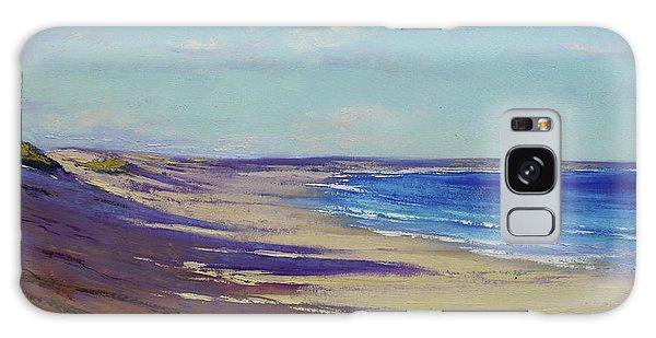 Impressionist Galaxy Case - Beach Sand Shadows by Graham Gercken