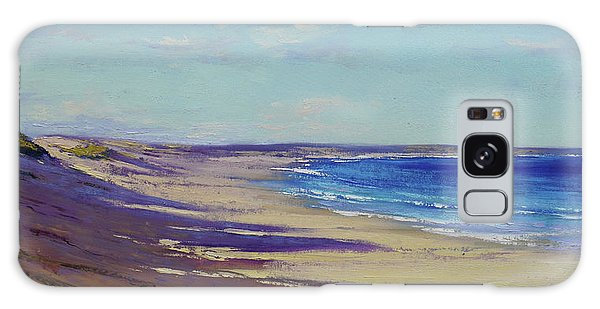 Impressionism Galaxy S8 Case - Beach Sand Shadows by Graham Gercken