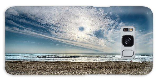 Beach Sand With Clouds - Spiagggia Di Sabbia Con Nuvole Galaxy Case