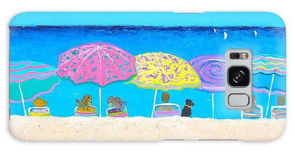Beach Sands Perfect Tans Galaxy Case by Jan Matson