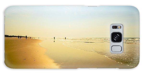 Beach Silhouettes 2 Galaxy Case