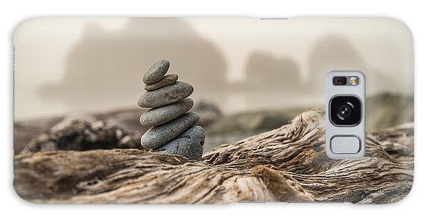 Sea Stacks Galaxy Case - Beach Stack by Kristopher Schoenleber