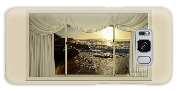 Beach Sunrise From Your Home Or Office By Kaye Menner Galaxy Case