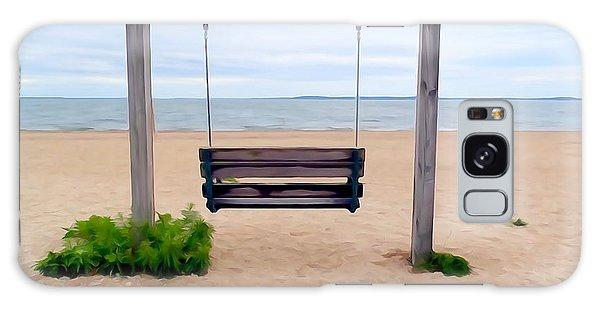 Beach Swing Galaxy Case