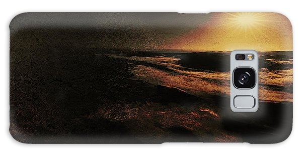 Beach Tree Galaxy Case