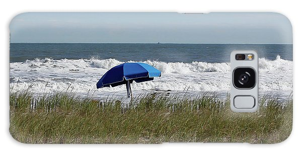 Beach Umbrella Galaxy Case by Denise Pohl