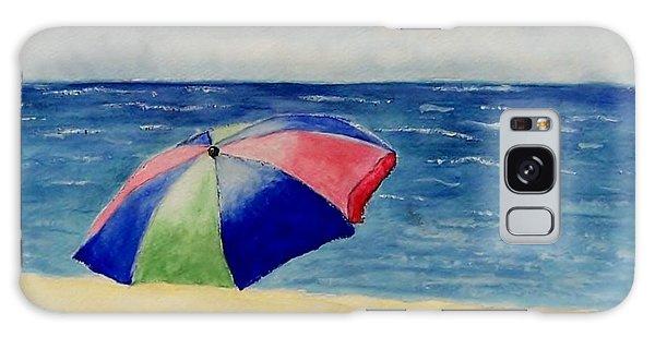 Beach Umbrella Galaxy Case by Jamie Frier