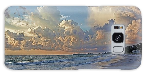 Beach Walk Galaxy Case by HH Photography of Florida