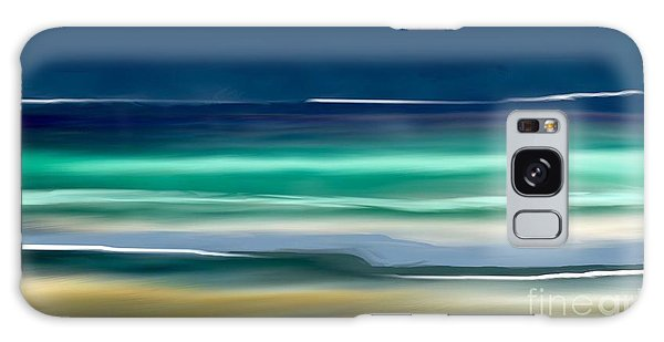 Beach Wave Galaxy Case by Anthony Fishburne