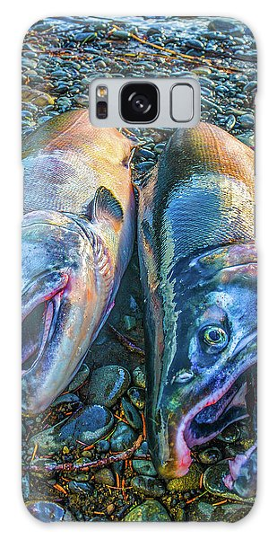 Beached Coho Galaxy Case