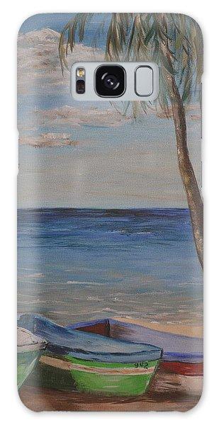 Beached Galaxy Case by Debbie Baker