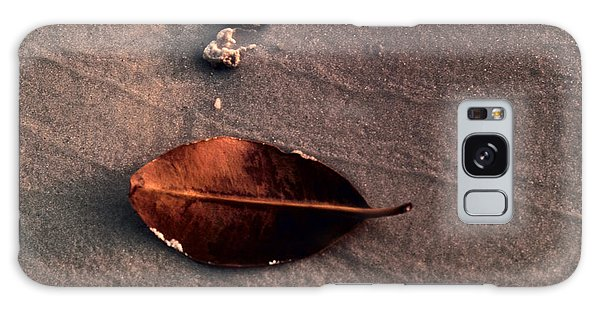Beached Leaf Galaxy Case by Brent L Ander