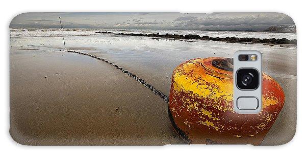 Beached Mooring Buoy Galaxy Case