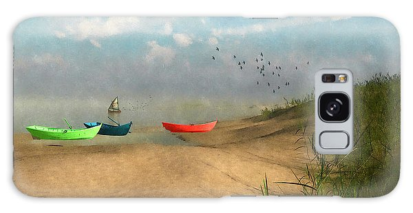 Beached... Galaxy Case by Tim Fillingim