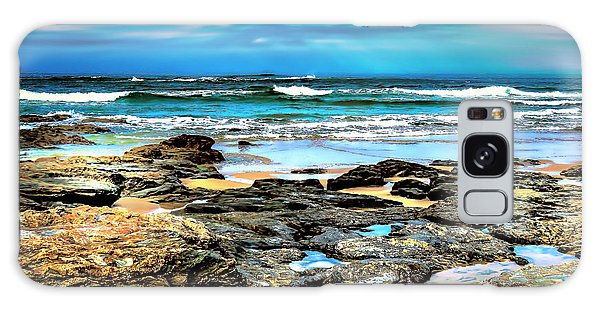 Galaxy Case featuring the photograph Beachscape At Hungry Head  by Wallaroo Images