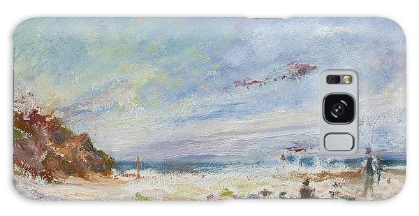Beachy Day - Impressionist Painting - Original Contemporary Galaxy Case