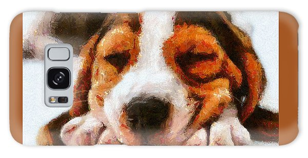 Beagle Puppy Galaxy Case
