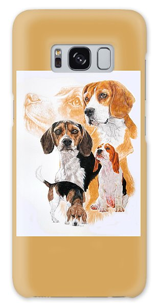 Beagle Hound Medley Galaxy Case