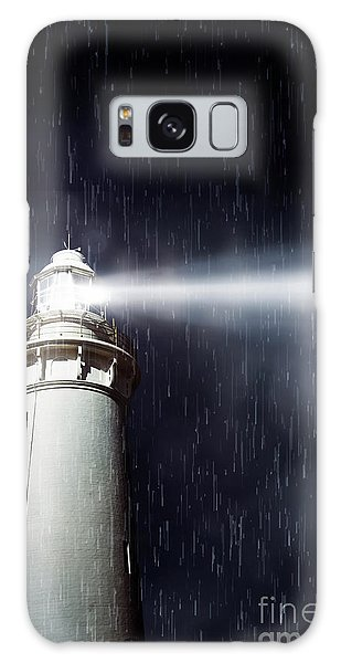 Navigation Galaxy Case - Beaming Lighthouse by Jorgo Photography - Wall Art Gallery