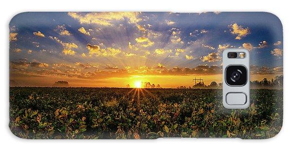 Bean Field Dawn Galaxy Case