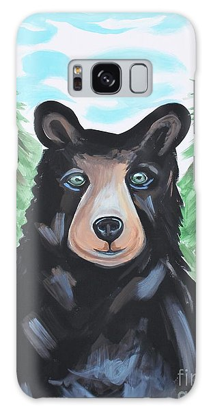 Bear In The Woods Galaxy Case