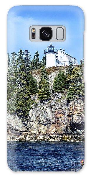 Bear Island Lighthouse Galaxy Case