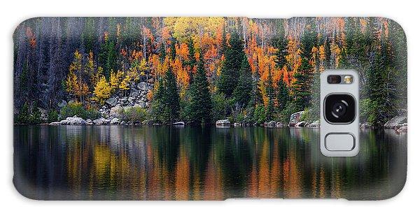 Bear Lake Autumn Reflections Galaxy Case