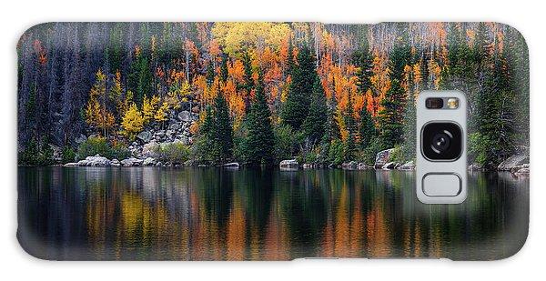 Bear Lake Autumn Galaxy Case