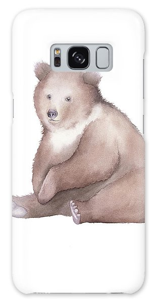 Bear Watercolor Galaxy Case