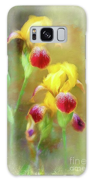 Bearded Iris Pair Galaxy Case