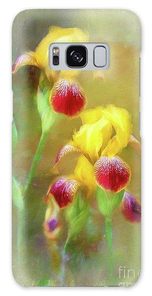 Bearded Iris Pair Galaxy Case
