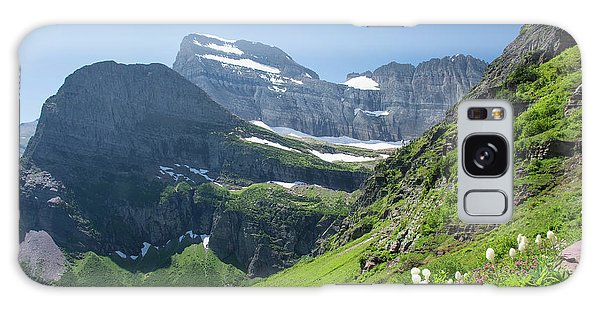Beargrass - Grinnell Glacier Trail - Glacier National Park Galaxy Case