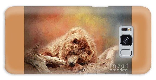 Bearly Asleep Galaxy Case